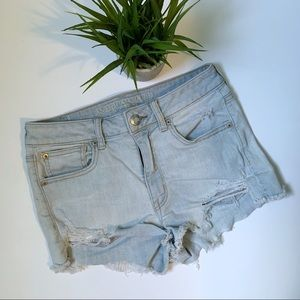 American Eagle Outfitter Super Stretch Jean Shorts